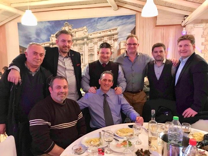 Με τα μέλη του συλλόγου Μπόσκιζας ο Σπύρος Βρεττός και μέλη της Παράταξής του «ΑΧΑΡΝΕΣ Υπερήφανος Δήμος»