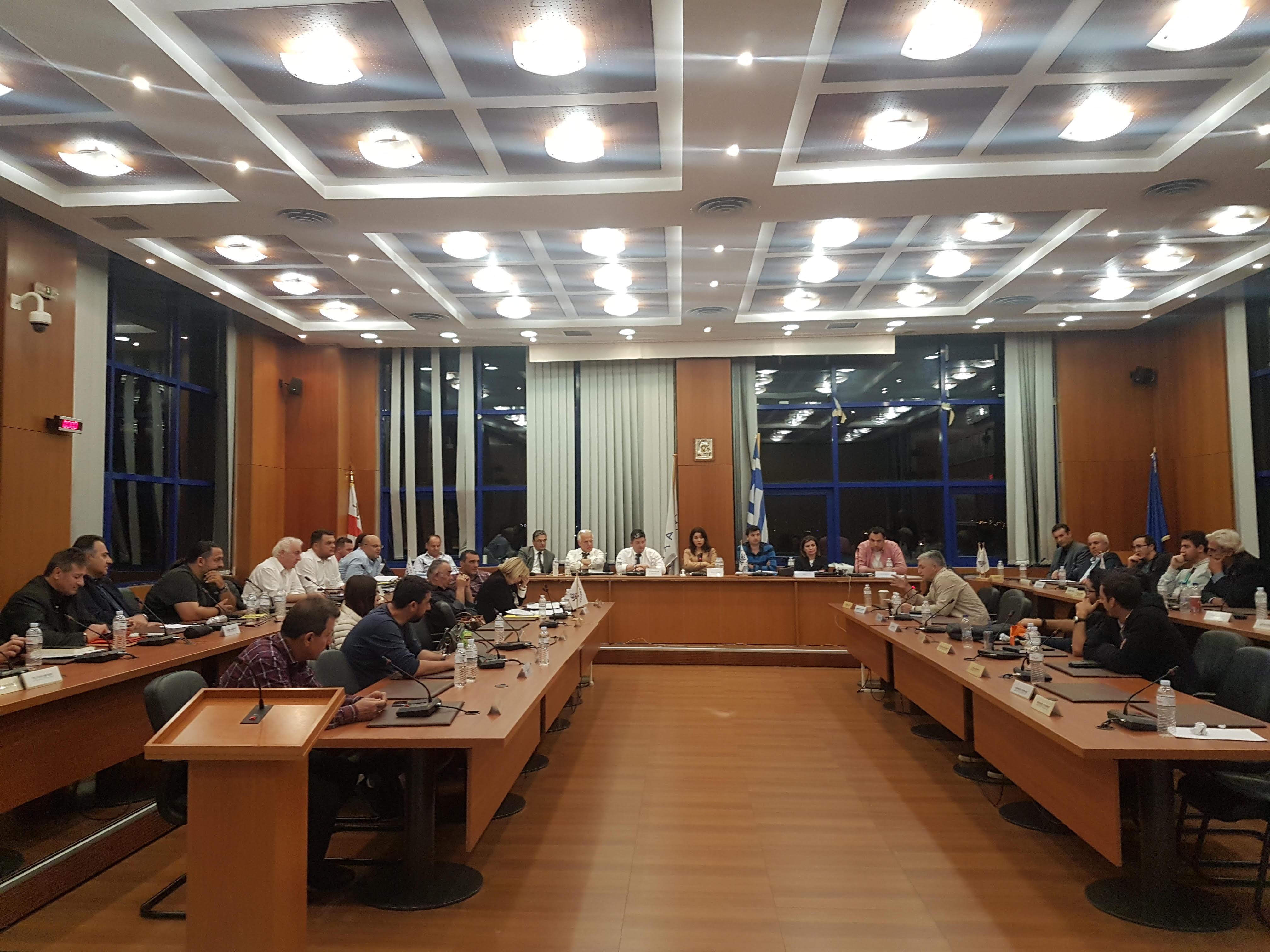 Eνημέρωση για τη γενικότερη κατάσταση του Δήμου με πρωτοβουλία του Δημάρχου Αχαρνών